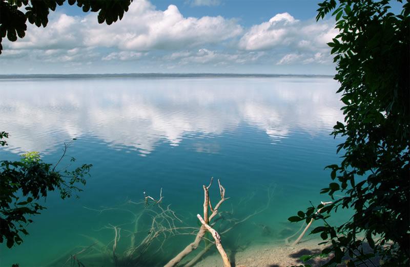 Lake Peten, Guatemala