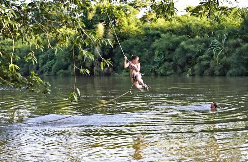 River Rope Swing